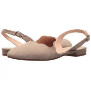 French Sole Book Taupe Suede