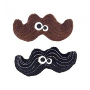 Mad Cat Meowstache Catnip & Silvervine Cat Toy