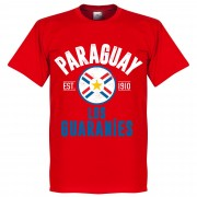 Retake Paraguay Established T-Shirt - Rood - XXXL