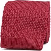 Suitable Knitted Krawatte Bordeaux - Bordeaux