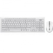 Rapoo 8200P Wireless Keyboard/Mouse 5Ghz (White)