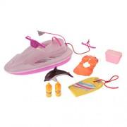 MagiDeal 1:6 Fashion Dolls Beach Seaside Play Set for Barbie Kelly Doll Accessories