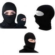 Stretchable Balaclava Face Mask - Black Colour