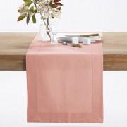 La Redoute Interieurs Caminho de mesa em meio-linho/algodão, BORDERrosado- 50 x 150 cm