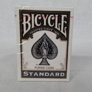 1 Deck of Bicycle Black Standards Playing Cards (BLACK) Standard Edition Deck