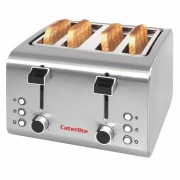 Caterlite Grille-Pain Inox 4 Tranches 1,8 kW 255x270x(H)190mm