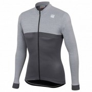 Sportful - Giara Thermal Jersey - Maillot vélo taille M;S;XL;XXL, gris/noir;rouge/brun