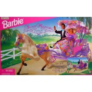 Barbie Sweet Magnolia HORSE & CARRIAGE Set *Wal Mart Special Edition (1996)