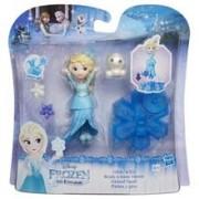 Set Figurine Hasbro Frozen Little Kingdom Glide And Go Elsa