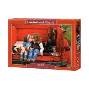 Castorland Pussel - Första Kyssen 500 Bitar