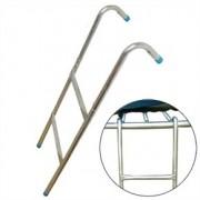 Létra kültéri óriás trambulinokhoz 80- 90 cm peremmagasság között ajánlott, a létra hossza 100 cm