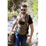 je porte mon bébé Porte-bébé JPMBB - PhysioCarrier - Tablier Safari poche Olive