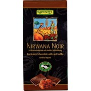 Ciocolata Nirwana neagra cu trufandale 55 % cacao Bio 100 gr Rapunzel