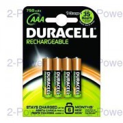 Duracell Uppladdningsbara AAA 4 Pack
