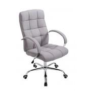 CLP Poltrona da ufficio Mikos tessuto, grigio , grigio, altezza seduta