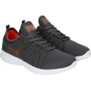 Calcetto BEN Running Shoes For Men(Grey, Orange)