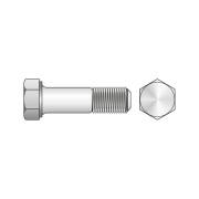 Surub Cap Hexagonal Partial Filetat 931 Inox A2-M22 X 100