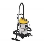 POWERPLUS Sárga inox száraz/nedves porszívó (POWX3240) - 1200 W/30 l
