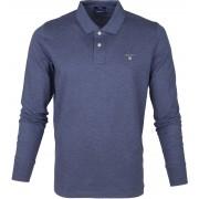 Gant Rugger Poloshirt LS Blau - Blau Größe 3XL