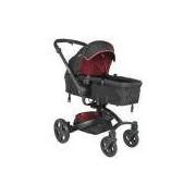 5107XV - Carrinho de Bebê Kiddo Spin 360° Xadrez Vermelho