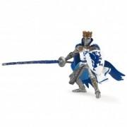 Figurina Papo Rege cu blazon dragon (albastru)
