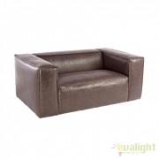Canapea din lemn de stejar DAKOTA 2-3 SEATS maro 0748051 BZ