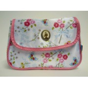 PiP Studio Cosmeticbag+flap Chinese Rose wit
