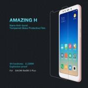 NILLKIN előlap védő karcálló edzett üveg, Amazing H, 0,33mm, 9H, A képernyő sík részét védi - XIAOMI Redmi Note 5 / XIAOMI Redmi 5 Plus - GYÁRI