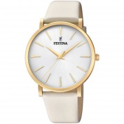 Reloj F20372/1 Crema Festina Mujer Boyfriend Collection Festina