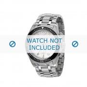 Giorgio Armani bracelet de montre AR-0586 Métal Argent 26mm
