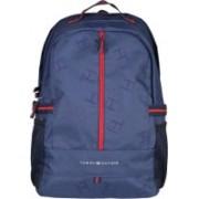 Tommy Hilfiger Laptop Backpack(Red, Blue)