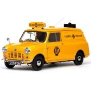 1/12 scale 1963 Austin Mini Aa Patrol Service Van Car (Yellow)