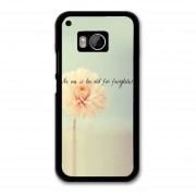 Y&M Fashion Pink Flower HTC One M9 Phone Case (Multicolor)