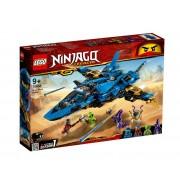 Set de constructie LEGO Ninjago Avionul de lupta al lui Jay
