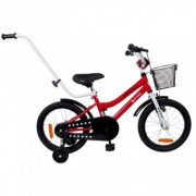 Bicicleta copii 4-7Ani Sun Baby BMX Junior 16 inch Rosu