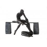 Socha TROST - bronzová