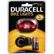 Duracell Lampe arrière de vélo 5 LED Duracell (BIK-B03RDU)