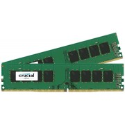Crucial 8GB Kit DDR4 CT2K4G4DFS824A 2400 4GBx2 SR x8 unbufferd