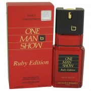 One Man Show Ruby For Men By Jacques Bogart Eau De Toilette Spray 3.3 Oz