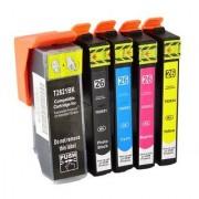 Printflow Compatível: Pack 5 Tinteiros Epson 26xl T2621 / T2631/2/3/4/5 (CMYK)