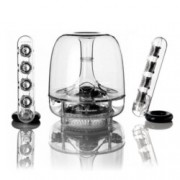 Тонколона Harman Kardon SoundSticks, 2.1, Bluetooth, сензорно управление, прозрачно