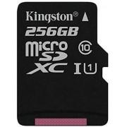 SanFlash Kingston MicroSDXC de 256 GB para Lenovo IdeaTab A2107 con Adaptador SD (100 MBs, Funciona con Kingston)