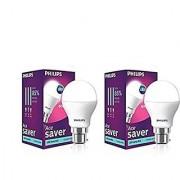 Philips Base B22 7-Watt LED bulb Pack of 2