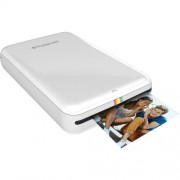 Polaroid Zip Instant Mobile Printer with ZINK Zero Ink Printing Technology - Compatible with iOS & Android Devices - White