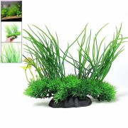 Aquarium Fish Tank Artificial Plastic Plant Green Grass Decoration Aquatic Landscape