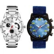ADAMO Designer Men's Combo Analog Watch 110-28SB08