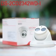 In stock International English version DS-2CD2342WD-I mini 4MP WDR EXIR Turret Network cctv ip Camera POE