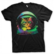 Space Kitten T-Shirt, Basic Tee