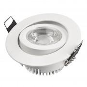 Designlight Desiglight downlight LED 5W vit DB-223W 499lm 3000K 350mA IP21