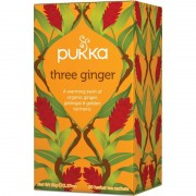 Pukka Three Ginger Tea Øko 20 breve Tea